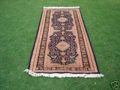 13011: 240 KPSI New Pak Uzbek Bokhara Runner Rug 7 x 3