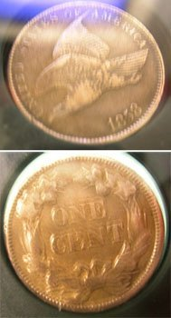 917: Flying Eagle Cent Circa 1858
