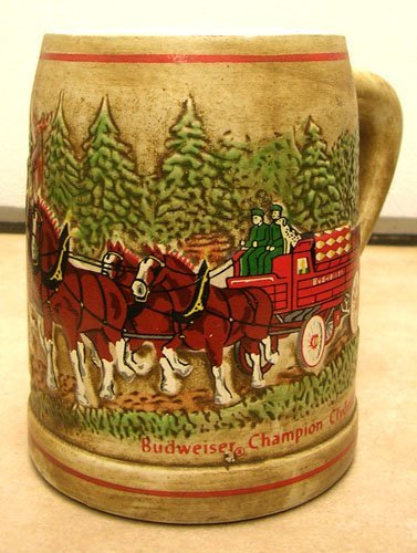 919: Budweiser Handcrafted Old Fashioned Clydesdales