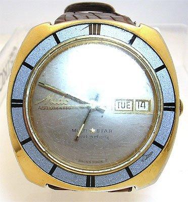 1118: Mido Automatic Multi Star Mans Wristwatch
