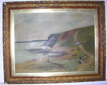 15001: Coastal Scene by listed artist Roy Edwin Patton