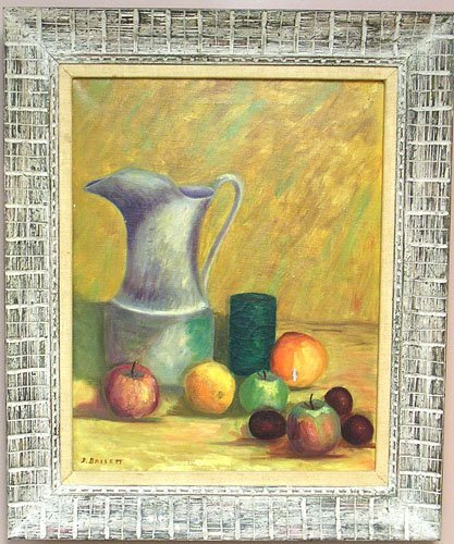 15005: Oil on Canvas by listed artist Donah Bassett