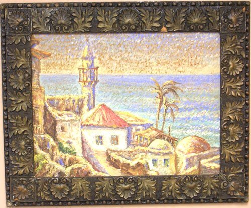 16004: Oil on Board by listed artist M. Sowauzk