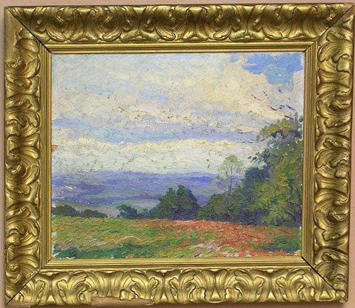 16006: Oil on Board by listed artist M. Vern Breitmayer