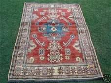 Veg Dyed S.Antique Caucasian Kazak Rug 5 x 4