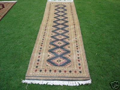 1198: New Pak Uzbek Bokhara Runner Rug 10 x 3
