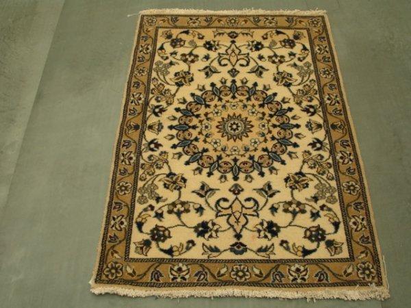 27009: Amazing Persian Nain Rug 4x3
