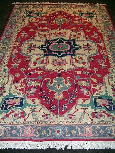 27011: Extraordinary Vegetable Dye Persian Soumak Rug 9