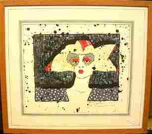 18002: Serigraph by Tampa artist Rikk Traweek