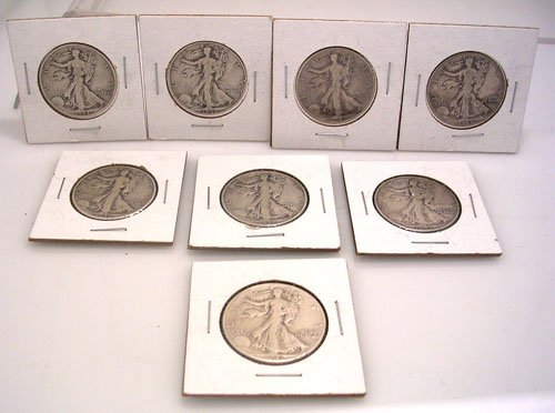 1617: Liberty Halves 1937 -1946 Coins