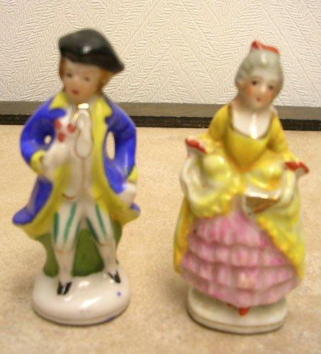 1618: Made in Occupied Japan Miniature Victorian Figuri