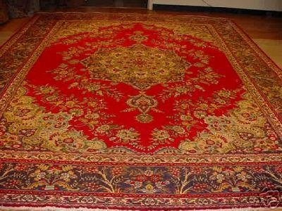 1749: SUPER ANTIQUE PERSIAN(AFSHAN)SHAHABASI(TABRIZ)10x