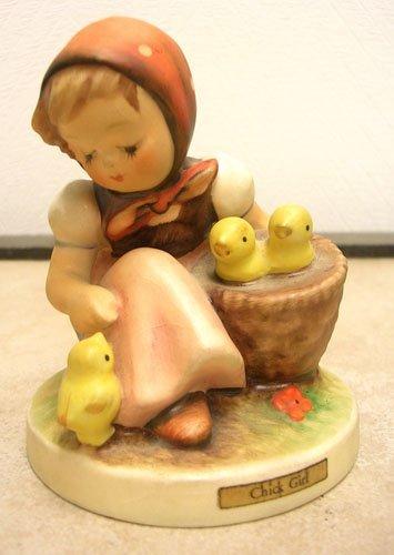21: Hand Painted Hummel Chick Girl 57/0 TMK3