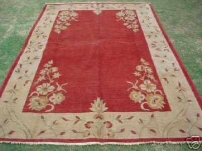 31008: Veg Dyed S.Antique Afghan Khaitan Chobi Rug 10 x