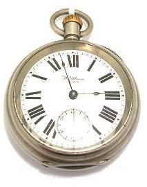 3243: Large Antique Waltham Pocket Watch SWSS