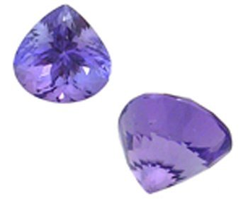 1630: 1.36ct Tanzanite trillion 6.8mm Loose