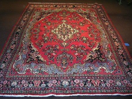 1773: Wonderful Persian Hamadan Carpet 10x7