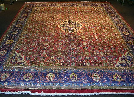 1774: Masterpiece Persian Mahal Carpet 13x10