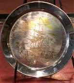 30002: Danbury Mint collection-The Boston Tea Party