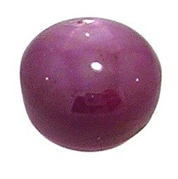610: 7.76ct FINE Star Ruby cabachon 9.5m round loose