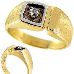 1/5th Ct Diamond mans estate ring