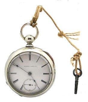 2022: Silveroid Illinois 18S Pocket Watch c.1883