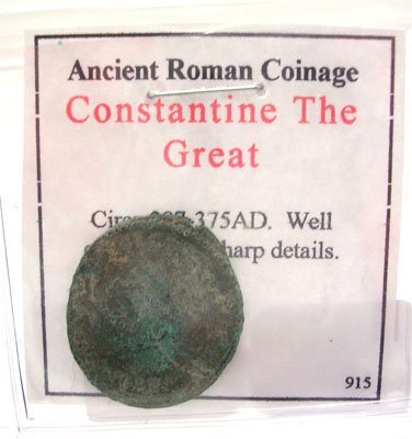 918: Ancient Roman Constantine The Great Coin