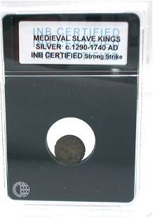 Silver Medieval Slave King Coin 1290-1740AD