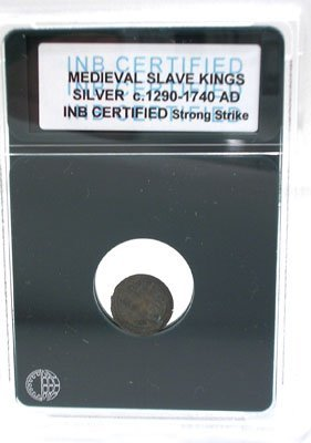 919: Silver Medieval Slave King Coin 1290-1740AD