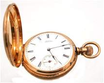 2046 14KY Waltham Royal Pocket Watch c1882