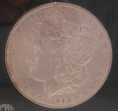 8216: SSilver 1890-O XF Morgan Silver Dollar Coin