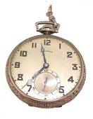 912: 14KW Filled Illinois 21J Pocket Watch circa 1923