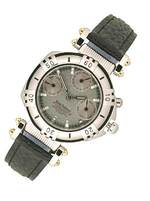 1818: Krug Baumen ADVENTURER LEATHER Ladies watch
