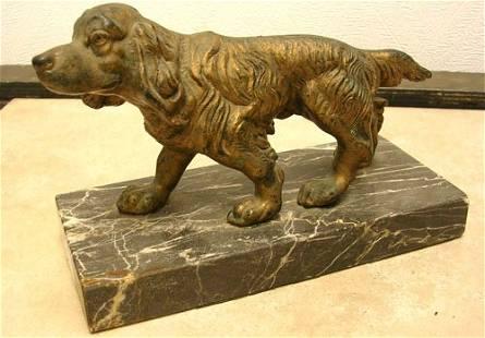 Italian Irish Setter Sculpture