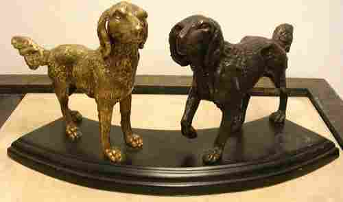 Metal Dog Statue