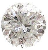 1198: .99ct Diamond round SI2 G EGL Cert $6380