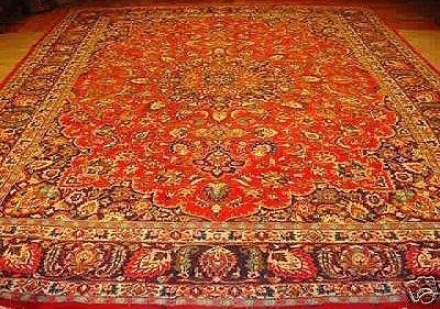 1249: PERSIAN MASHAD CARPET 14x10