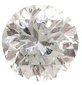 1396: 1.04ct Diamond round SI1 I EGL Cert $9030
