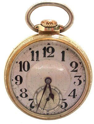 1916: GFilled 21J Illinois Bunn Special Pocket Watch c.