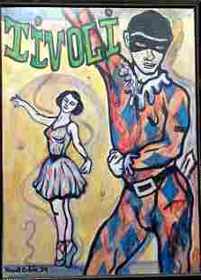 Print of Original Mixed Media listed artist Krud