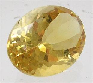 8+ct Golden Citrine Oval Loose