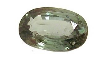 1.98ct Ceylon Green Sapphire oval 5.92x8.99m loo