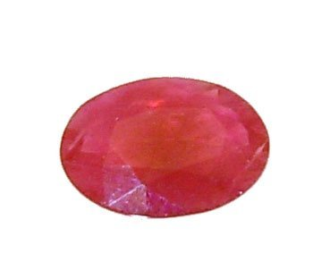 2118: 1.15+Ct.Ruby Oval Loose Stone 8x6mm