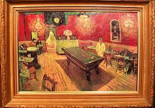 Oil on Canvas after Vincent Van Gogh