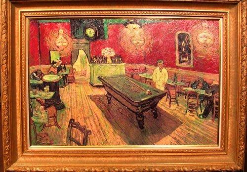 21002: Oil on Canvas after Vincent Van Gogh