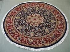 2247: Amazing Quality ROUND Pak Persian Rug 5x5