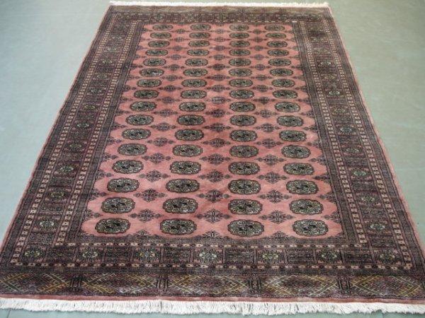 1147: New Pak Uzbek Bokara Rug 8x5 Mint Condition !