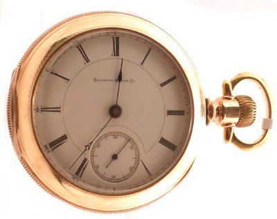 1121: GFilled Miller Illinois Pocket Watch c.1883