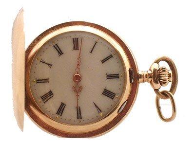 2119: 14KY English Ladies Pocket Watch