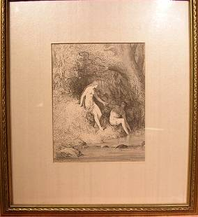 Woodblock Print from Gustave Dore